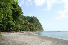 Anse couleuvre beach, Martinique, France Stock Photography