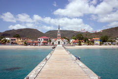 Anse d'Arlet, Martinique Arkivbilder