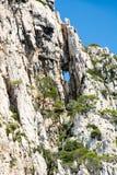 Anse de la Baume, Frankreich lizenzfreies stockbild