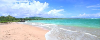Anse de Sables Beach - Saint Lucia Royalty Free Stock Photography
