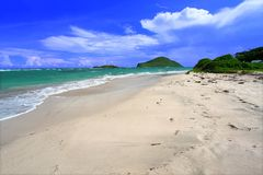 Anse de Sables Beach - Saint Lucia Stock Photos