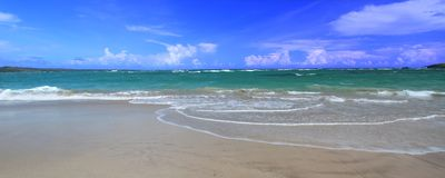 Anse de Sables Beach - Saint Lucia Royalty Free Stock Image