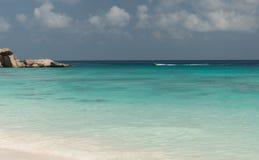 anse digue全部la塞舌尔群岛 库存图片