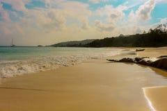 anse digue uroczysty wyspy los angeles Seychelles Obrazy Royalty Free