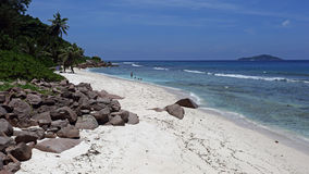 Anse Fourmis , La Digue island , Seychelles Stock Image