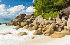 Anse Georgette obrazy royalty free