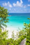 Anse Georgette beach, Seychelles Royalty Free Stock Images