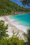Anse Georgette beach, Seychelles Stock Images