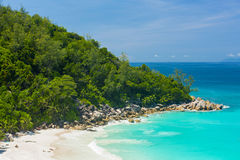Anse Georgette Royalty Free Stock Photography