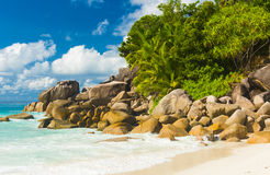 Anse Georgette Stock Photos