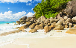 Anse Georgette Royalty Free Stock Photos