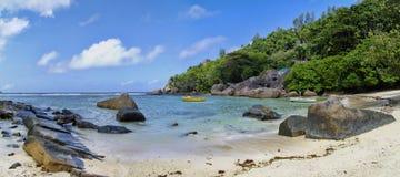 Anse Gouvernement, Mahe, Seychelles Images libres de droits