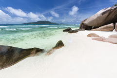 Anse Grosse Roche, La Digue, Seychelles Royalty Free Stock Image