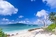 Anse Grosse Roche, Seychelles Obrazy Royalty Free