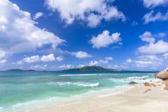 Anse Grosse Roche, Seychelles Obraz Royalty Free