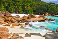 Anse Lanzio Royalty Free Stock Images