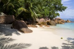 Anse Lazio Royalty Free Stock Photos