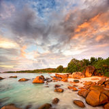Anse Lazio beach Royalty Free Stock Photography