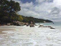 Anse Lazio beach, Seychelles royalty free stock images