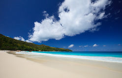 Anse Lazio beach in Seychelles Stock Photos