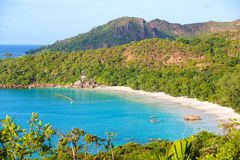 Anse Lazio beach in Seychelles Stock Photo