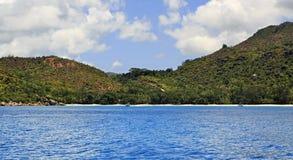 Anse Lazio the most beautiful beach on island of Stock Photography