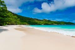 Anse Lazio, Praslin island. The Seychelles Stock Photo