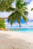 Anse Lazio, Praslin island. The Seychelles Royalty Free Stock Photography