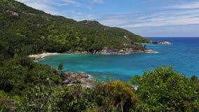 Anse Major , Mahe island , Seychelles Stock Photo