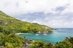 Anse Major, Mahe, Seychelles Royalty Free Stock Photos