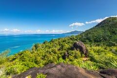 Anse Major Nature trail, Seychelles Royalty Free Stock Photos