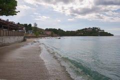 Anse Mitan - Martinique - Caribbean island. Anse Mitan - Martinique - Tropical island of Caribbean stock photo