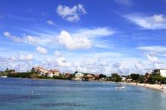 Anse Mitan - Martinique - karibisk FWI - Royaltyfri Bild