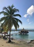 Anse Mitan, Martinique - 12/14/17 - Mooi tropisch strand in Anse Mitan Royalty-vrije Stock Afbeeldingen