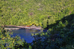 Anse Noire in Martinique, France, Lesser Antilles Royalty Free Stock Photography