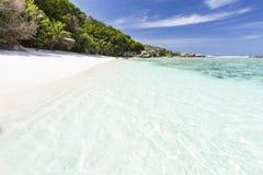 Anse Pierrot, Ла Digue, Сейшельские островы Стоковое Изображение RF