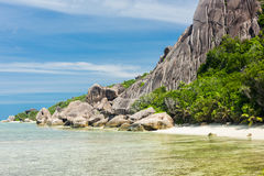 Anse Pierrot Stock Images