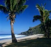 anse plażowy grande wyspy spotkanie zdjęcie stock