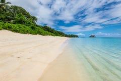 Anse Royale Beach, Mahe Island, Seychellen royalty-vrije stock afbeelding