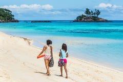 Anse Royale Beach, Mahe Island, Seychelles fotografia stock libera da diritti