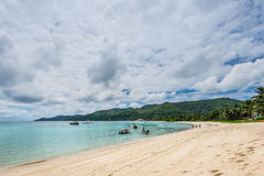Anse Royale, Mahe Island, Seychellerna Royaltyfria Foton