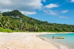 Anse Royale, Mahe Island, Seychellerna Arkivfoto