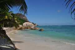 Anse Source d` Argent Royalty Free Stock Photos