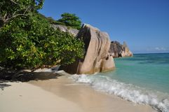 Anse Source d` Argent Royalty Free Stock Image