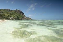 Anse Source d'Argent beach, La Digue Island, Seychelles Stock Image