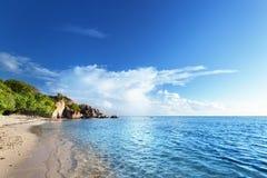Anse Source d'Argent beach, La Digue island Royalty Free Stock Photo