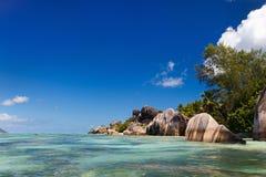 Anse Source d'Argent beach Stock Images