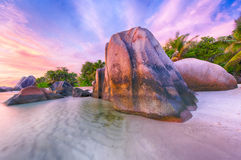 Anse Source d'Argent Stock Photography
