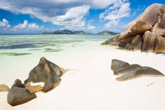 Anse Source d'Argent Royalty Free Stock Photo