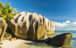 Anse Source d'Argent Royalty Free Stock Images
